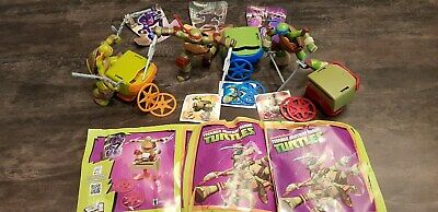 KINDER FERRERO SURPRISE NINJA TURTLES SDD17 EASTER MAXI FIGURES TMNT CAKE TOPPER