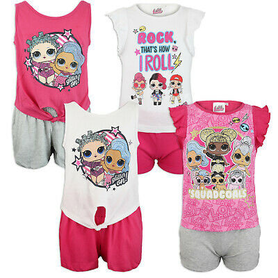 LOL Surprise Completo Bambina 26013 Maglia Pantaloni Made in Italy Natale
