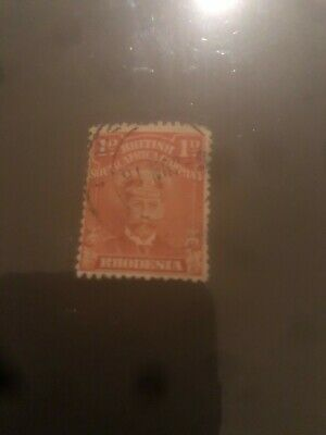 British South Africa Co Rhodesia 1d red
