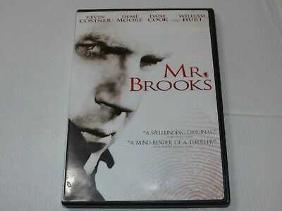 Mr. Brooks DVD 2009 Panorámica Drama Rated-R Kevin Costner William Hurt Demi Moo
