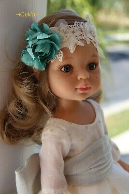 """Paola Reina doll ~outfit doll~Carla communion~13.5""""~34cm~ #04823 ~ iCukla"""