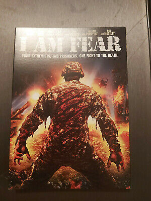 I am Fear - DVD SIZE - SLIPCOVER ONLY