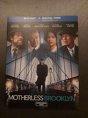 Motherless Brooklyn - BLU RAY SIZE - SLIPCOVER ONLY