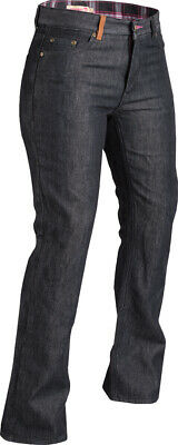 Highway 21 Womens Motorcycle Palisade Jeans Pants Black Size 2-18