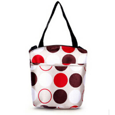 Insulated Thermal Cooler Lunch Box Carry Tote Picnic Case Storage Bag JH