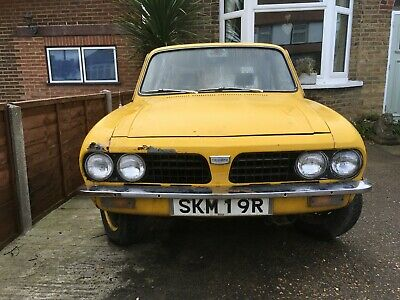 Triumph dolomite 1500HL with 1850 engine and overdrive gearbox