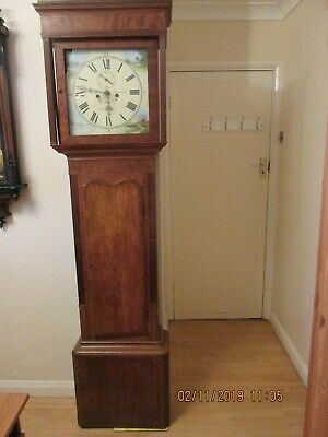 Antique Vintage Grandfather Clock
