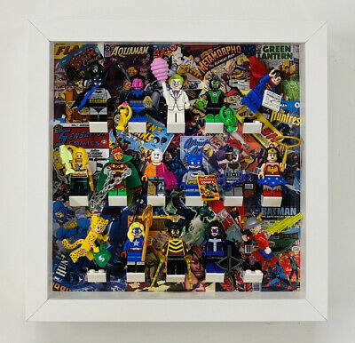 Display Frame case for Lego DC Comics minifigures Series CMF 71026 no figures