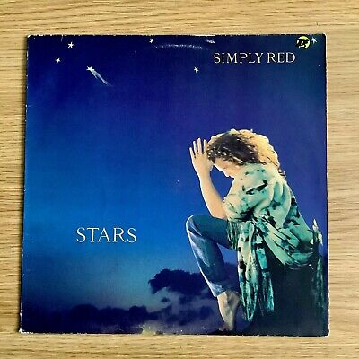 Simply Red - Stars - Original 1991 Lp VG+ Vinyl / VG Album Cover