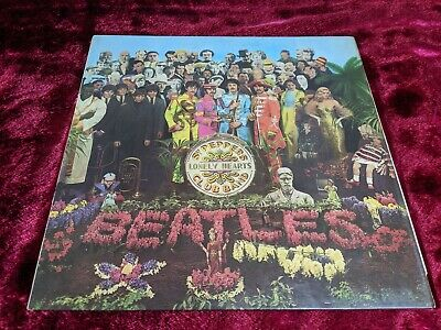 The Beatles Sgt Peppers Lonely Hearts Club Band Vinyl LP 1976 UK Press -1 Matrix