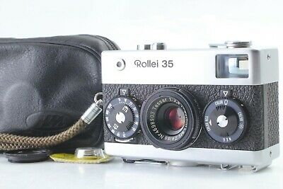 Made in Germany N MINT+3 w/Battery Rollei 35 Film Camera Tessar 40mm from JAPAN