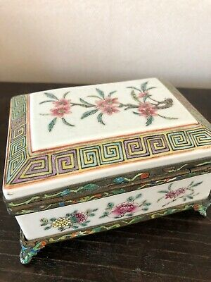 Old Chinese Porcelain Box
