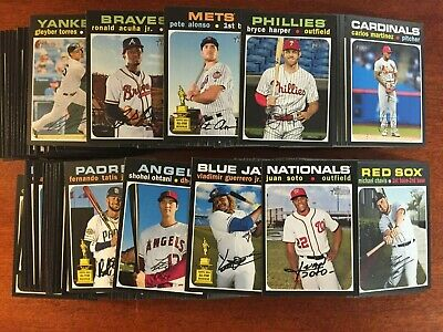 2020 Topps Heritage SP #401-500  Buy 4 or more Take 10% Off