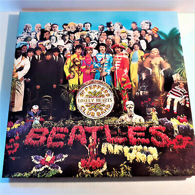 The Beatles Lp Record 2012 Sgt Peppers Lonely Hearts Club Band