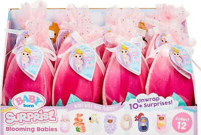 Baby Born Surprise Series 3 Blooming Babies Mystery Pack Lot of 2 / In Hand