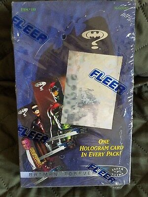 Batman Forever Ultra In Sealed Box With 36 Sealed Packs Of Cards Great Shape~Fs