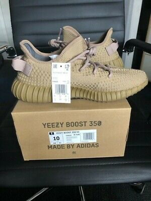 Adidas Yeezy Boost 350 V2 Earth Mens Size 10,100% AUTHENTIC