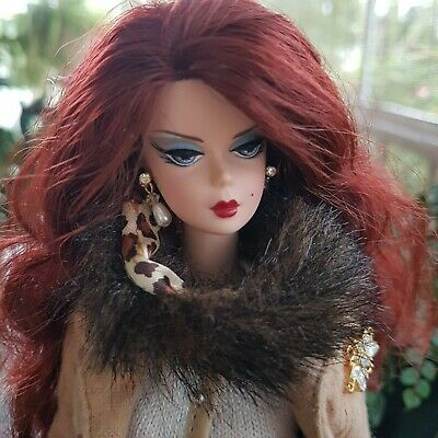 Silkstone Barbie In Spotted Shopping Fashion ~ Mint