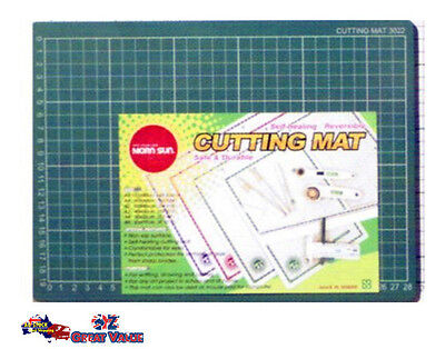 A3 Craft Green Self Healing Cutting Mat Hobby Art Work DIY Scrapbooking CCM-203