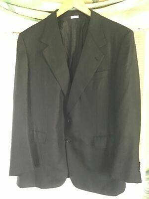 BRIONI Men's Cashmere Silk Blazer Sport Coat Black 44R