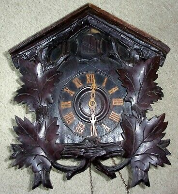 Antique Black Forest Early German Cuckoo Clock