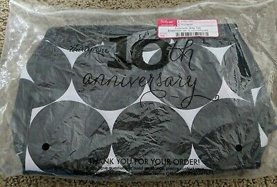 Thirty One Cosmetic Bag Set In Big Dot Pattern NEW UNUSED