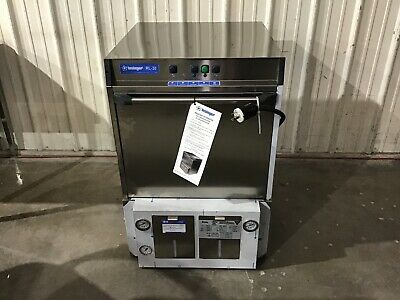 INSINGER - RL-30 Commercial Undercounter Dishwasher 30 Racks/Hour  208 to 240V