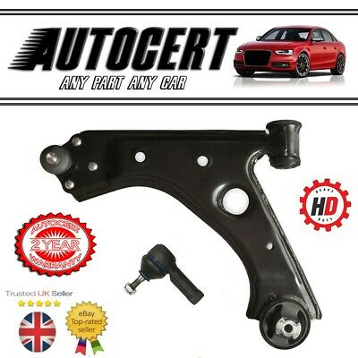 FOR FIAT PUNTO MK2 FRONT LOWER SUSPENSION WISHBONE ARMS ARM OUTER TRACK ROD ENDS