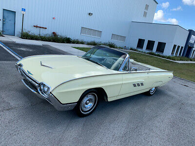 1963 Ford Thunderbird Convertible! SEE VIDEO! 1963 Ford Thunderbird T-bird Convertible similar to cadillac buick Lincoln 1960
