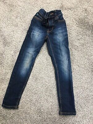 Next Boys Super Skinny Distressed Jeans Age 4