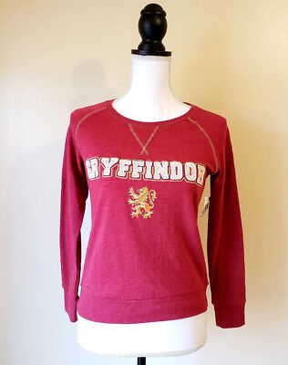 Harry Potter Universal Studios Gryffindor Sweater Pullover Red Size Large Kids