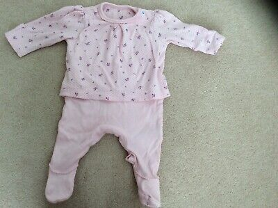 Baby Girls Mothercare Babygrow. Up to 1 Month. Immaculate