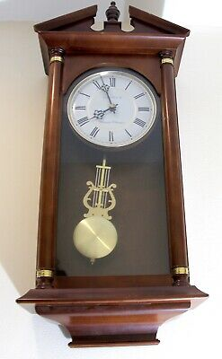 London Clock Co Westminster - Whittington Electric Swinging Pendulum Wall Clock