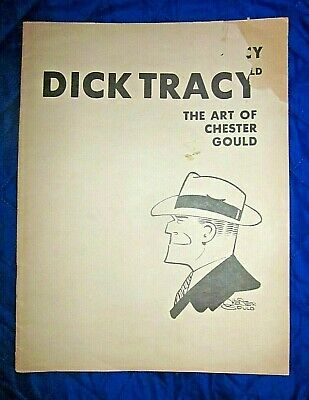 11-30-78 Exhibition Book-Dick Tracy The Art Of Chester Gould-Museum Cartoon Art