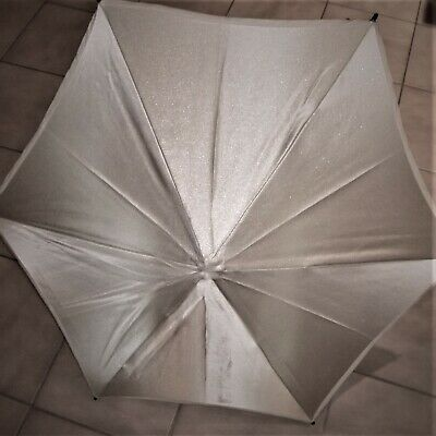 "REFLECTASOL PHOTO STUDIO UMBRELLA 36"" HEX with bracket."