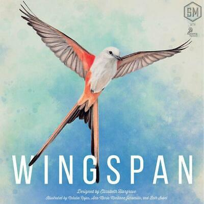 Wingspan Board Game 2nd ed + Swift Start Promo Expansion Stonemaier NEW *SHRINK*