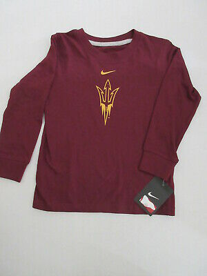 Arizona State Nike Long Sleeve Tshirt Kids Boys Girls Size 4