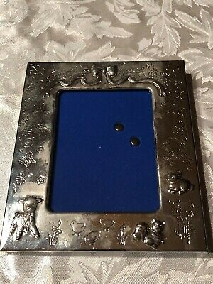 Princess House Silver plated Baby Frame 351