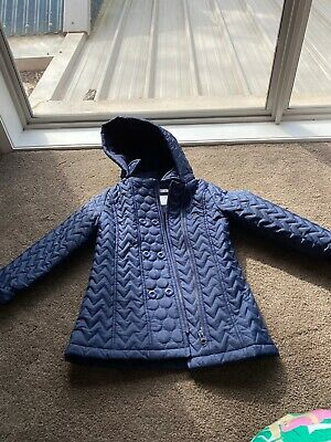 Target Girls Winter Jacket Removable Hood Warm Size 6