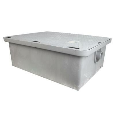 Canplas - 3925A02LO - Endura® Low Profile 25 GPM/50 Lb Grease Trap