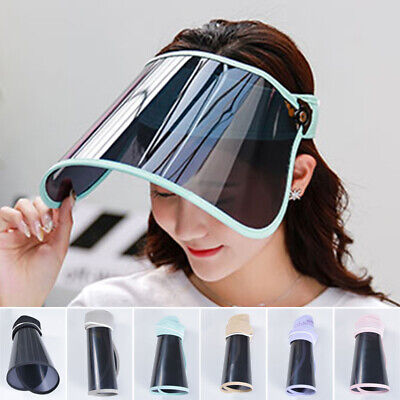 Hat-Mounted Transparent Cover Protective Cap Face Cover Plastic Anti-fog Saliva