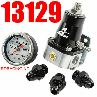 Aeromotive 13129 EFI Bypass Regulator UP TO 1000 HP combo GREAT PRICE MUST SEE