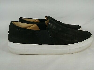 Vince Camuto Penny Loafers Mens Size 10 M Black Leather Slip On Casual Shoes