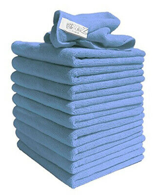 10x Large Microfibre Cleaning Auto Car Detailing Soft Cloths Wash Towel Duster *