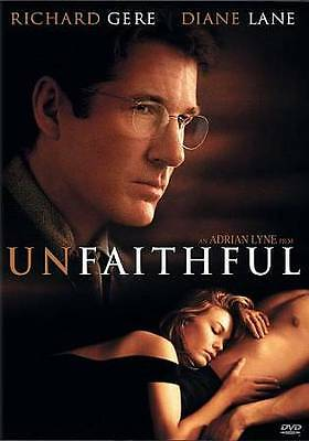 Unfaithful (DVD, 2010, Widescreen) Richard Gere Diane Lane New & Sealed!