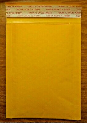 """10 x Kraft Bubble Padded Envelopes Shipping Packaging Mailers 4"""" x 6"""""""