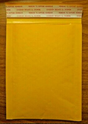 """100 x Kraft Bubble Padded Envelopes Shipping Packaging Mailers 4"""" x 6"""""""