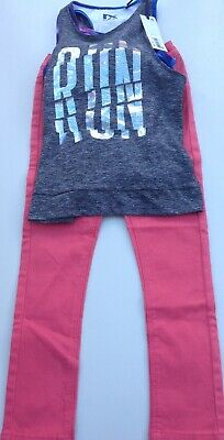 Next girls sports top and jeans age 5-6 years