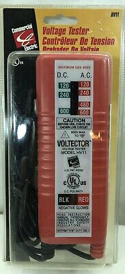 New Commercial Electric Voltage Meter HV11