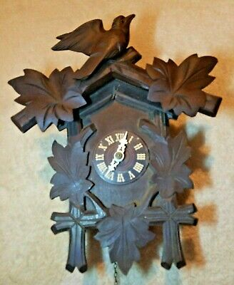 Hubert Herr Black Forest Single Weight  Clock.